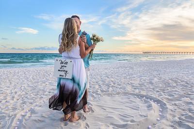 Brooklyn and Caseys Surprise Proposal Panama City Beach 2018