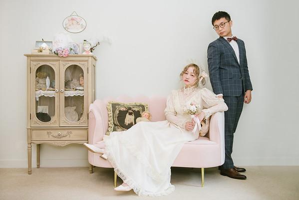 Brian & Patsy Engagement|古董蕾絲婚紗