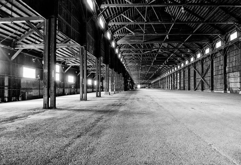 Vanishing Point  Lumber Mill, McCloud, CA