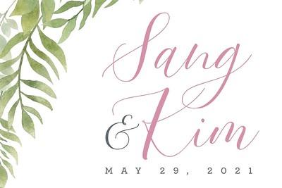 Sang & Kim 5/29/21