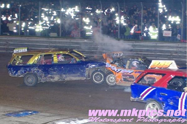 Unlimited bangers Champion of Champions, Birmingham Wheels, 23 November