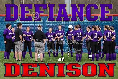 2013 Defiance at Denison (04-18-13)