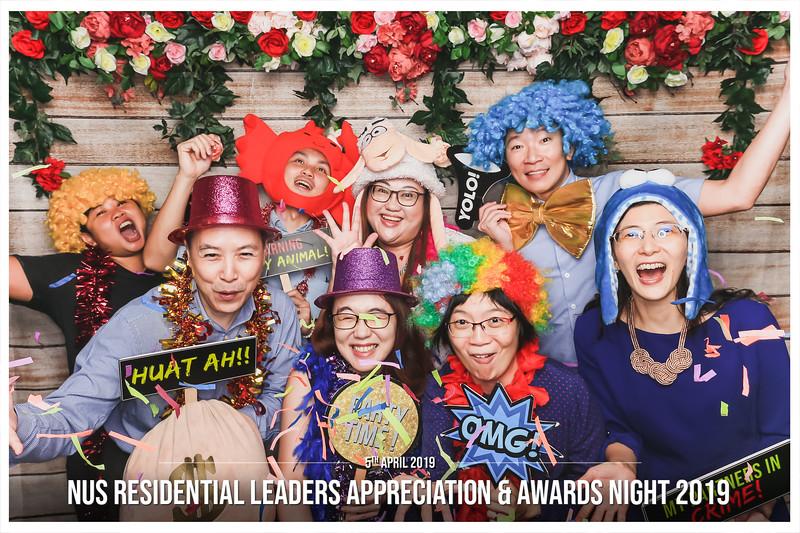 NUS Residential Leaders Appreciation & Awards Night 2019 | © www.SRSLYPhotobooth.sg