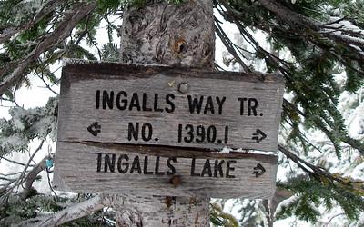 Lake Ingalls - October