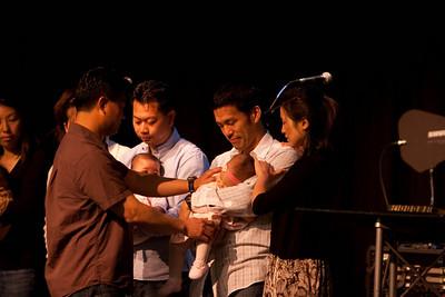 Infant Dedication - April 26, 2009