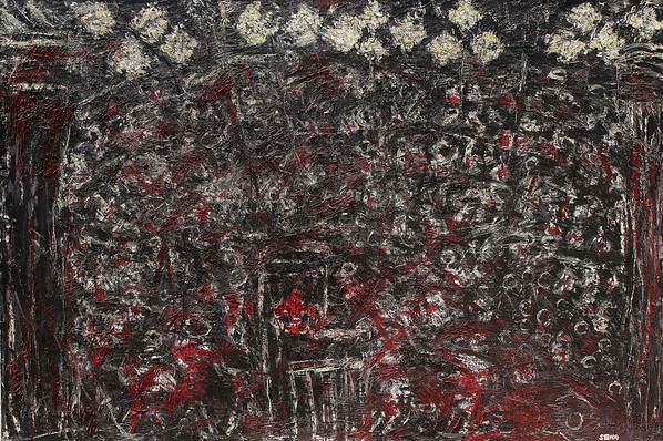Ides of March - February 2011 - 48x72- oil on canvas.