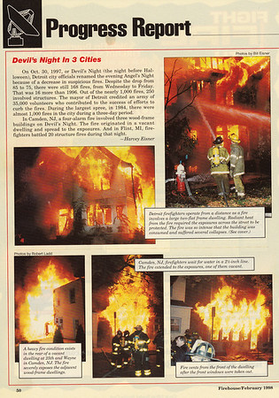 CFPA Members In Firehouse Magazine 1998