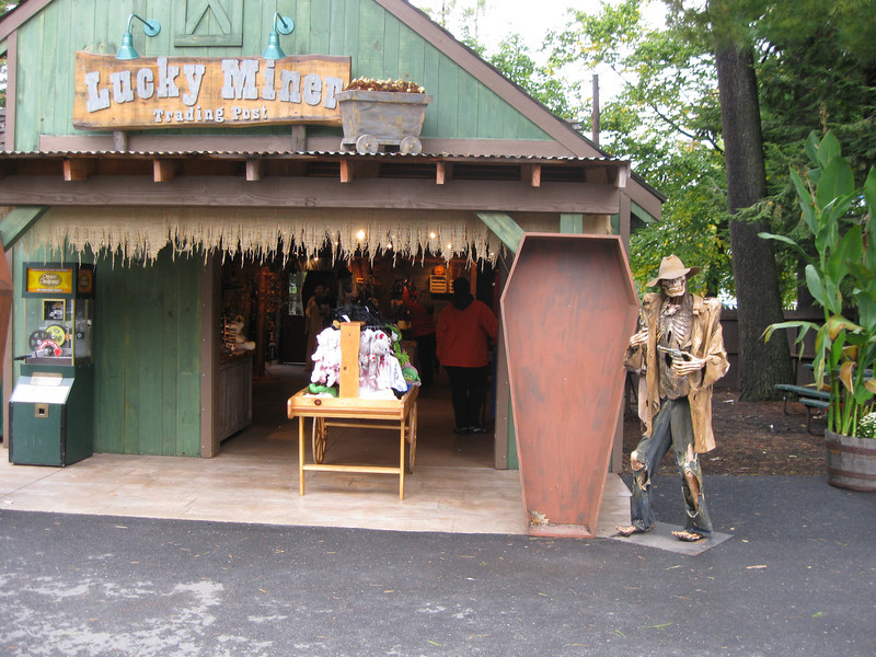 Theming at the Lucky Miner.