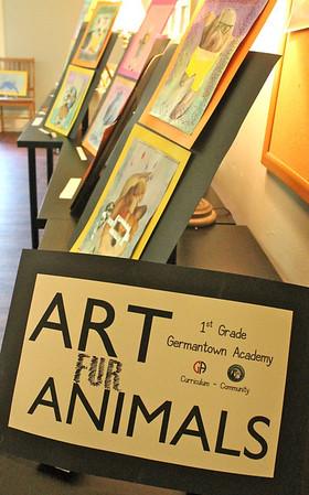"1st Grade - Art ""Fur"" Animals Exhibit at Francisvale"