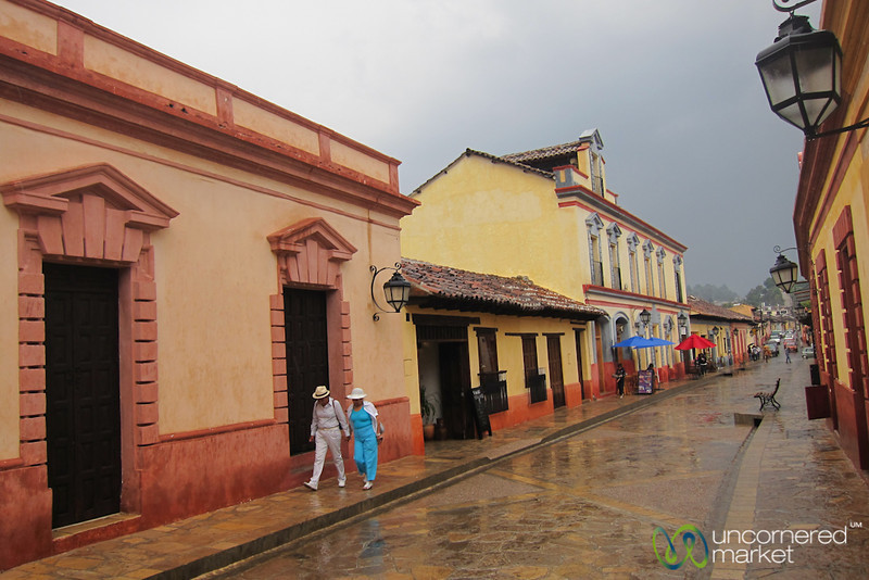 Colorful Streets of San Cristobal de las Casas, Mexico