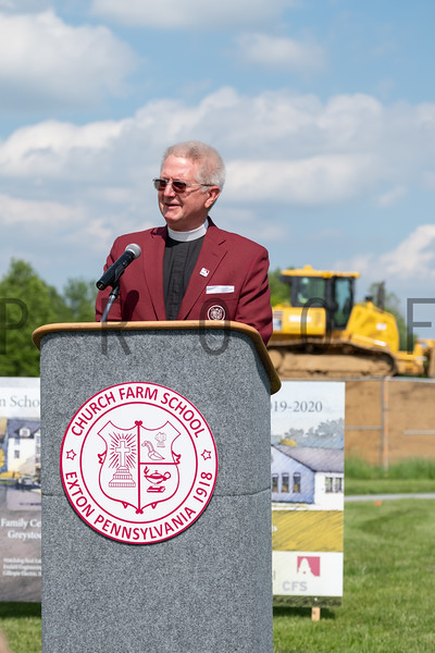 Church Farm School 2019 Groundbreaking Ceremony