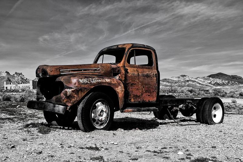 Death Valley Derelict