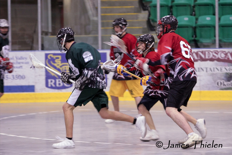 Okotoks Ice vs Rockyview Silvertips May 05, 2007