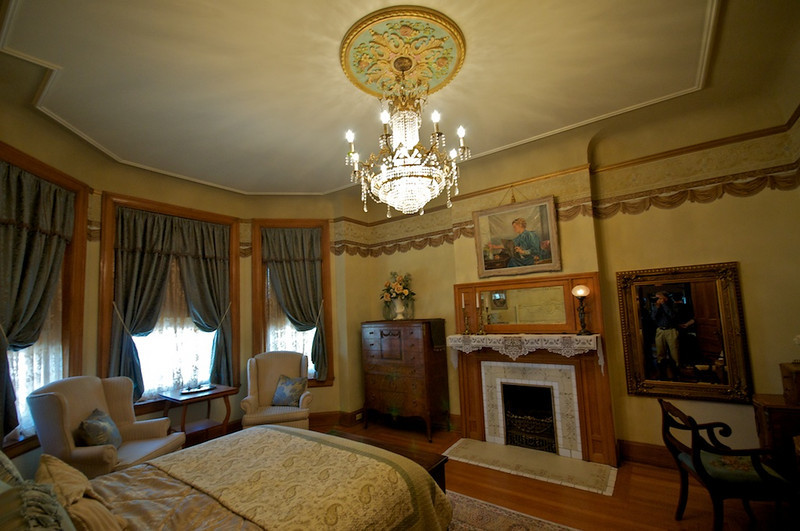 Wiedemann Hill Mansion - private changing area for bride and maids