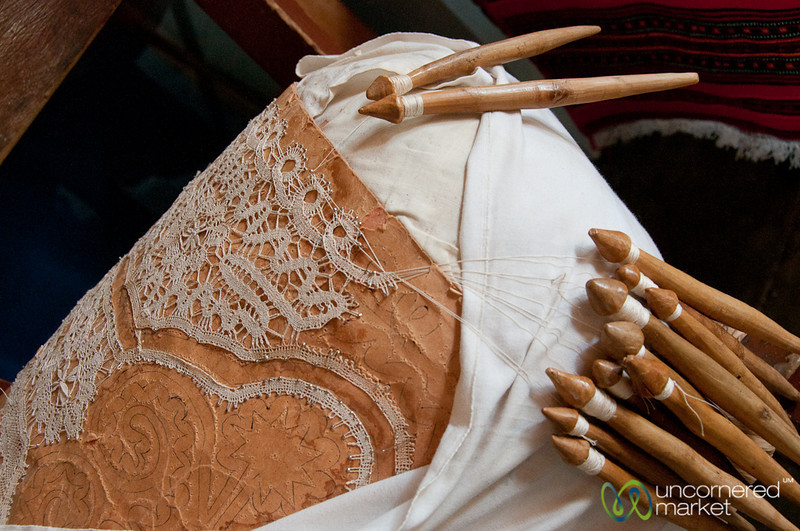 Bobbin Lace in Gavalochori, Crete