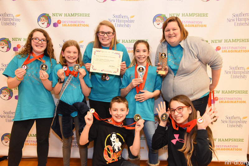 Spirit of DI Award: Gilbert H Hood Middle School - Seven Shades of Awesome - Middle Level - Derry - 130-07331 - Technical Challenge: Maze Craze