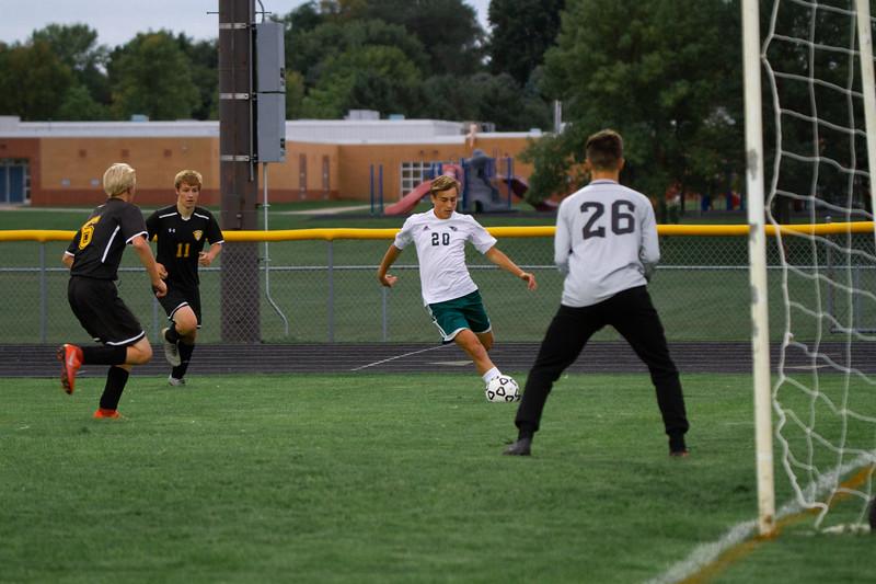 Holy Family Boys Varsity Soccer vs. Hutchinson, 9/26/19: David Torborg '20 (20)