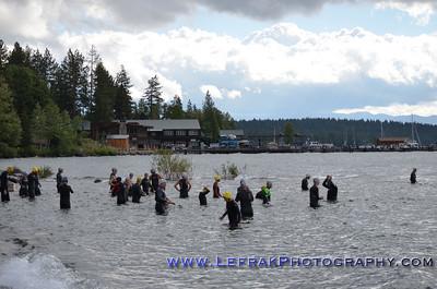 XTERRA Tahoe City 2012 Swim