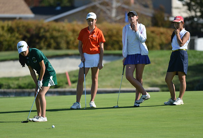 EBAL Girls Golf 10192015