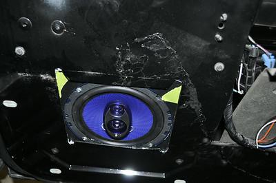 Corvette Front Door Speaker Installation - USA