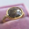 1.56ct Rustic Rose Cut Diamond Bezel Ring, by Single Stone 4