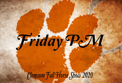 Clemson Show Friday PM