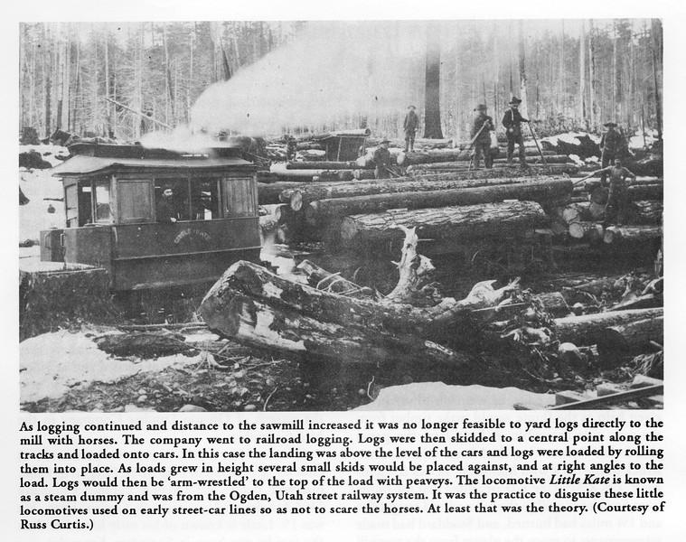 "Mount Hood ""Little Kate"". Former Ogden City Railway No. 10."