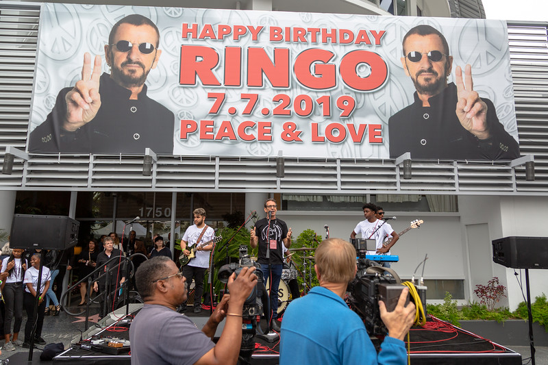2019_07_07, Birthday, CA, Capitol Records, Los Angeles, Ringo, Brian Rothschild