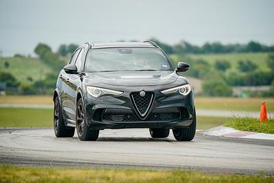 Black Alfa Romeo Stelvio