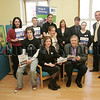 The Princess Trust completed their Community Project at the Magnet Young Adult Centre by redecorating part of their building. Pictured at the Presentation Ceremony held on Friday last are the Trainees along with Tony McConville Acting Director Newry Institute, Siobhan McManus and Des McCaul Team Leaders at the Institute. 07W15N11