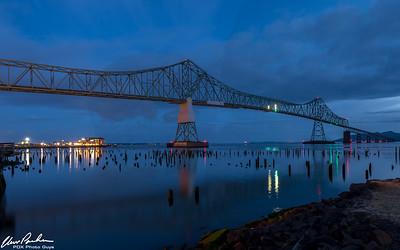 Astoria Bridge by Morning