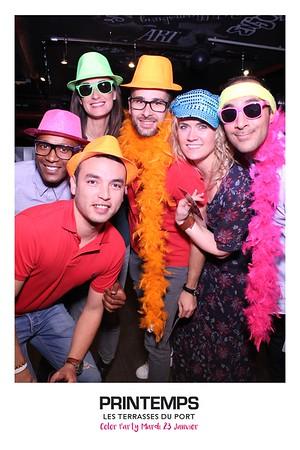 Printemps Color Party