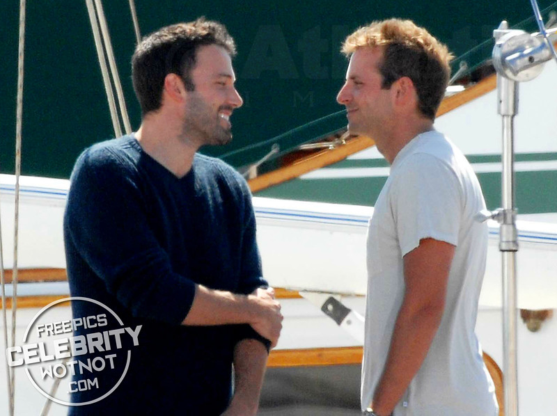 Ben Affleck and Bradley Cooper Look Like Great Shipmates! LA