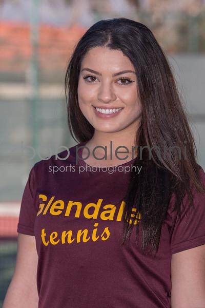 GCC 2016 Women's Tennis team and headshots