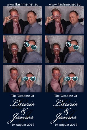 Laurie & James' Wedding - 19 August 2016