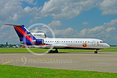 Yakovlev Yak-42 Business Jet Airplane Pictures