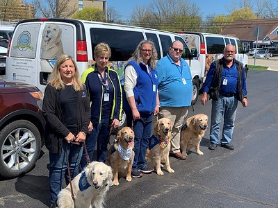 LCC K-9 Comfort Dogs Deploy to Indianapolis- 2021