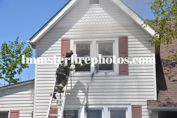 BELLMORE FD MARION ST HOUSE FIRE 5-17-16