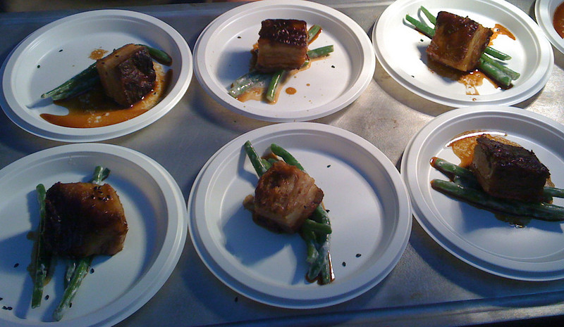 Braised Pork Bellies in a Soy Glaze #TasteCLT