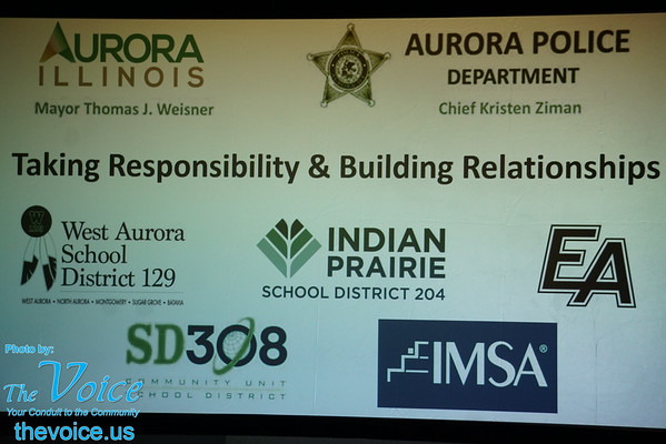 Taking Responsibility & Building Relationships Student & Police Forum 9-1-16