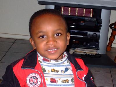 Lillies Grandson 12-25-07