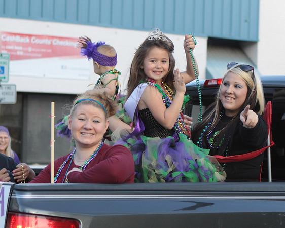 Mardi Gras Parade 3-1-14