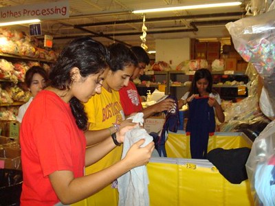 Cradles to Crayons Volunteers - 6.20.10