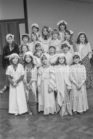 Ashmead School play, April 1979