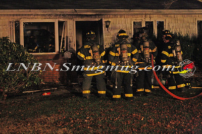 Brentwood F.D. House Fire 1726 Central Blvd 12-14-11