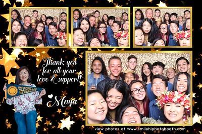 Maya's  graduation party