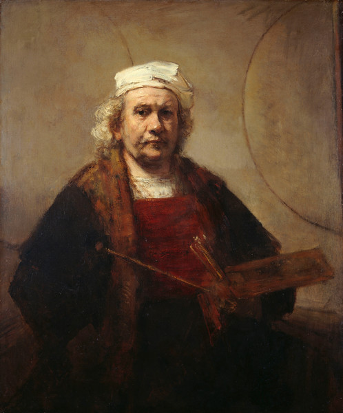 Rembrandt - Self Portrait 1665