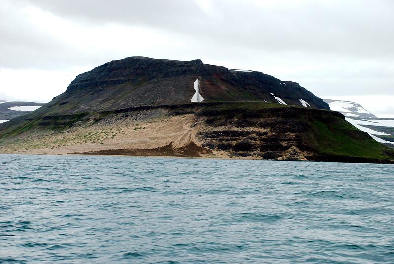 Mannafjall í Aðalvík.