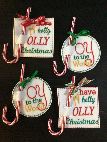 Candy Cane Holder Ornaments
