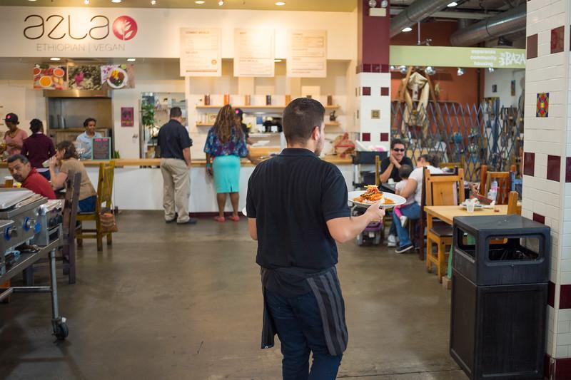 Mercado La Paloma.